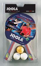 JOOLA  Tischtennisschläger Set ROSSI 2 Tischtennisschläger 3 Tischtennisbälle
