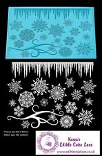 Cake Lace Mat - Frozen Crystal  - Ideal Cakes and Cupcakes Craft