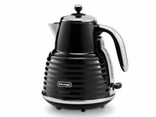 De'Longhi Scultura KBZ3001.BK 1.5 L Kettle - Black Brand New