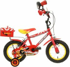 "Apollo Firechief Kids Bike 12"" Wheels Caliper Brakes Mudguard Childrens Bicycle"
