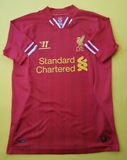 4.8/5 Liverpool jersey small 2013 2014 home shirt Warrior soccer football ig93