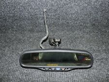 2003-2006 GM CADILLAC SUV OEM REAR VIEW MIRROR w ONSTAR AUTODIM COMPASS TEMP #41