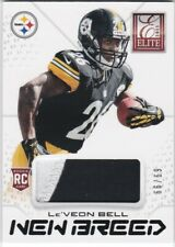 Le'Veon Bell Pittsburgh Steelers 2013 Donruss Elite New Brd Rookie Patch RC /99