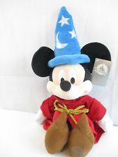 "New listing Nwt Disney 24"" Mickey Mouse Sorcerer Fantasia Plush Toy"