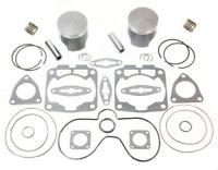 2000-2005 Polaris 600 XC SP SPI Pistons Bearings Gaskets Top End Rebuild Kit Std