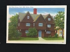 Old Witch House Built 1642, Salem, MA  postcard  unposted