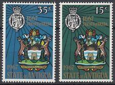Antigua 1967 Tricentenario del trattato di Breda MNH