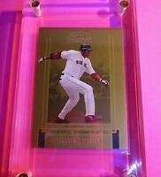 2005 Donruss Classics #34 GOLD SSP Timeless Tribute David Ortiz #d 42/50