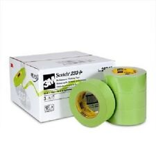 3M 26340 Green Masking Tape 233+ 2 Inch Case/12 Rolls