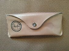 Vintage Bausch & Lomb Ray-Ban Leather Sunglass Case Only Made in USA impact