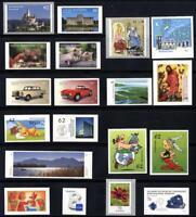 2015sk] Deutschland 2015 selbstklebende Briefmarken postfrisch komplett