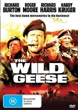 WILD GEESE - RICHARD BURTON & ROGER MOORE - NEW & SEALED DVD
