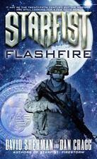 Starfist: Flashfire, David Sherman, Dan Cragg, Good Condition, Book