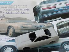 ALEZAN MODELS . 1/43 . ALFA ROMEO DELFINO CONCEPT GENEVE 1983 .