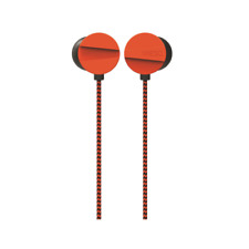 WESC M10 In-Ear Wired Headphone Kopfhörer mit Klinke 3,5mm und Mikro in Orange