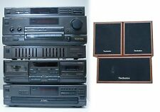 Vintage TECHNICS Stereo Component System sh-8017 rs-tr270 st-k55 su-g95 sl-pd665