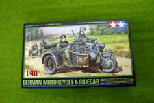 Tamiya GERMAN MOTORCYCLE & SIDECAR 1/48 Scale kit 78