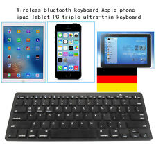 78 Schlüssel Ultra Slim Wireless Bluetooth3.0 Funk Tastatur PC Smartphone Tablet