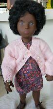 """SASHA doll BLACK Trendon CORA Doll #118 16"""" Vintage Red Dot Series w/tag"""