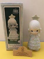 You're As Pretty As A Christmas Tree Precious Moments figurine 1994 original box