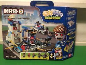 Kre-o Police Station Zombie Defense Cityville Invasion Kreo Construction Toy
