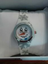MIXIT Snowman Face Holiday Silicone Band Womens Watch Christmas JCPennys NEW!