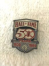 MLB National Baseball Hall Of Fame 50 Years 1939-1989 Commemorative Pin