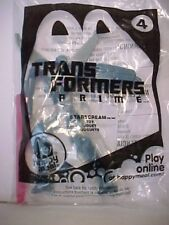 McDonald's Transformers Prime 4 Starscream Plane Happy Meal Toy Ships Today!