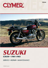 CLYMER Repair Manual for Suzuki GS650 1981-1983