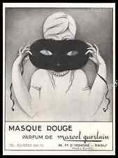 1926 GUERLAIN Perfume  Original French Advert Print Ad - Z1