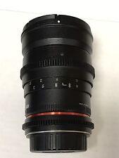 Rokinon 35mm T1.5 Cine  Lens for Canon EF
