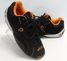 Mens Piloti Prototipo PIL-61606 Suede Racing Driving Shoes Black Size 5.5 / 38