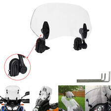 Windshield Extension Spoiler Windscreen Deflector for Motorcycle Scooter Bike
