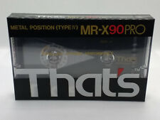 That's MR X90 PRO - Blank Metal Audio Cassette Tape - New and sealed