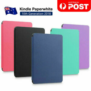 Amazon KINDLE Paperwhite 10th Flip Leather Folio Case Cover Slim Magnetic