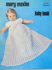 Pattern Baby Book 4 amp; Maxim Mary Vintage Volume Booklet Crochet knit FYTp4fwqxc