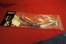 Mares Ergo Splash Snorkel Color Blue and Clear with Anti splash Top