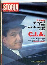 STORIA ILLUSTRATA#FEBBRAIO 1972 N.171#LA C.I.A#STALIN#CANALE DI PANAMA#Mondadori