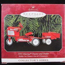 1955 Murray tractor Trailer Hallmark Keepsake Christmas Ornament 1998