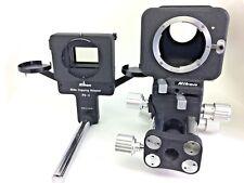 【Near Mint】Nikon PB-4 Bellows Focusing Attachment + PS-4 Slide Copying Adapter