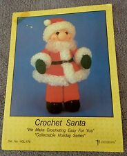 "Crochet Santa 14"" - 1988 - TD Creations Leaflet Cat. No. HOL-770, Pattern Only"