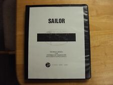 Sailor Radio GMDSS Vhf Transceiver SP3110/SP3111 SP3210/SP3211Technical Manual