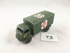 VINTAGE DINKY TOYS # 626 FORDSON MILITARY ARMY AMBULANCE ORIGINAL DIECAST 1956