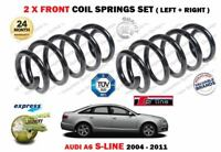 FOR AUDI A6 S LINE TFSI FSI TDI + ESTATE 2004-2011 2X FRONT COIL SPRINGS SET