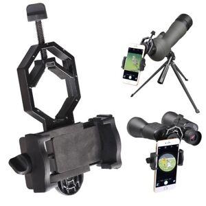 Mobile Phone Camera Adapter Telescope Spotting Scope Microscope Mount Holder US