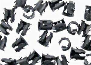 Barrel Clips For Nissan- Emblem, Trim etc- Fit 1/4 Hole- 7/32 Stud- 20 pcs- #019