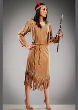 Womens Cheyenne Indian Squaw Costume