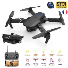Drone 4k HD double caméra grand Angle WiFi FPV (Drone suiveur) Gyroscope 6 Axes
