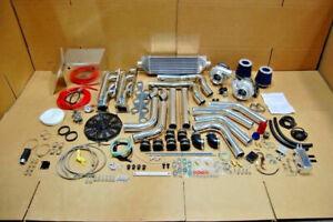 FOR T4 MOPAR TT DODGE MUSCLE 1200HP Twin Turbo KIT 318 340 360 5.2L 5.9L LA