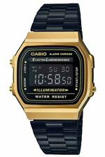 Casio Collection Classic Watch Digital Stainless Steel a168wegb-1bef